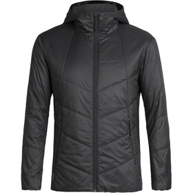 Icebreaker Helix Hooded Jacket Herre Black
